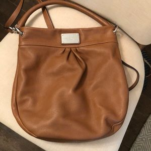 Marc Jacobs Hillier Hobo saddle brown leather bag